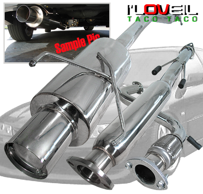 94 95 96 97 Honda Accord 4cyl Jdm 3 U0026quot  Exhaust Catback